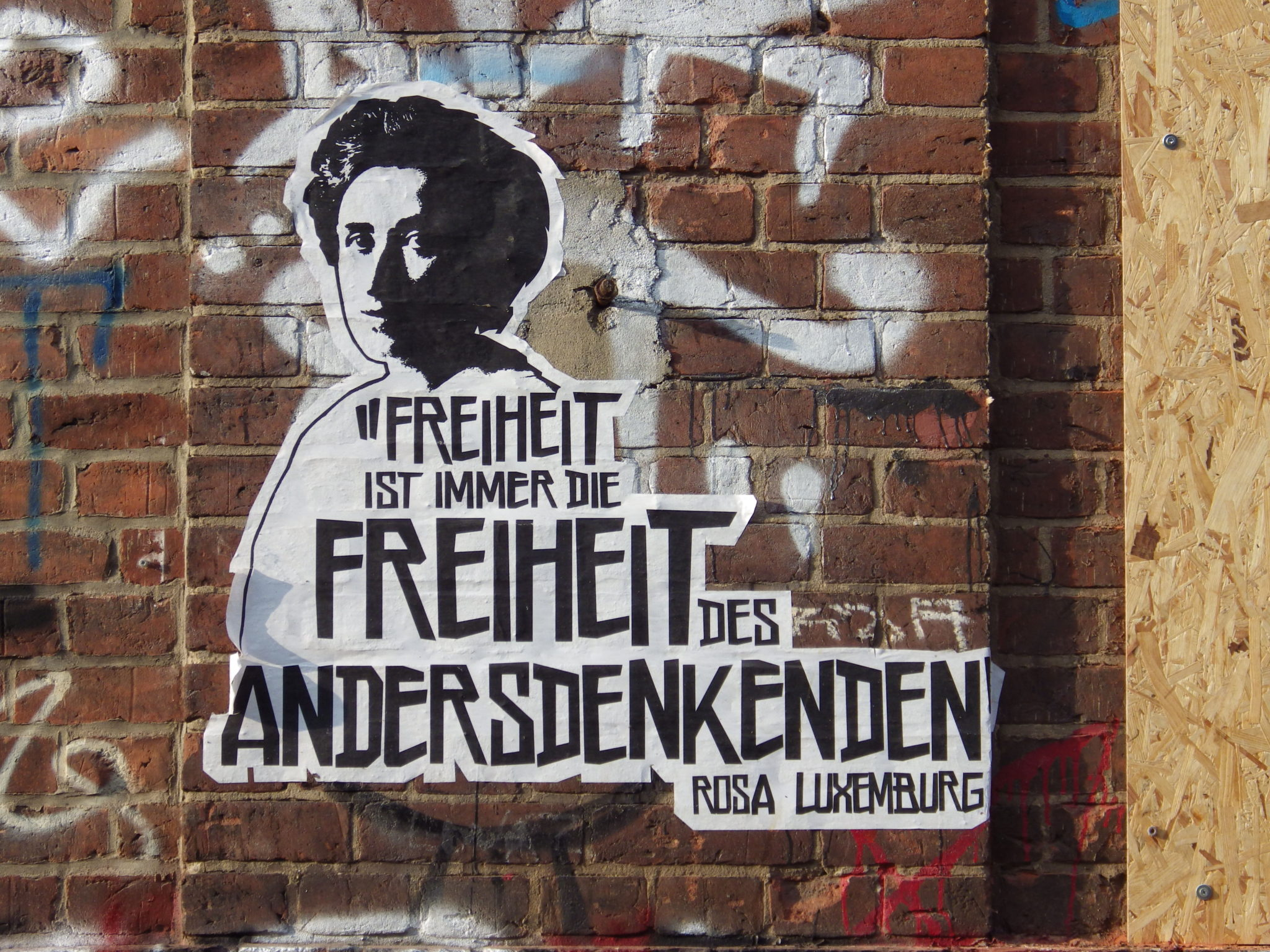 Rosa-Luxemburg-Paste-Up-in-Berlin